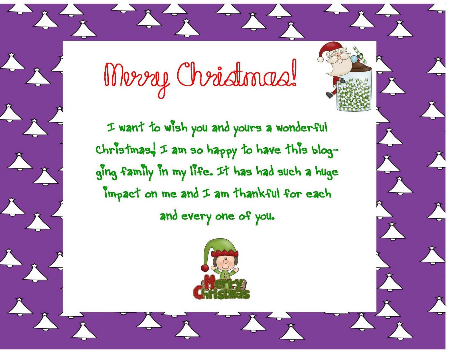 love christmas greeting card messages for daughter