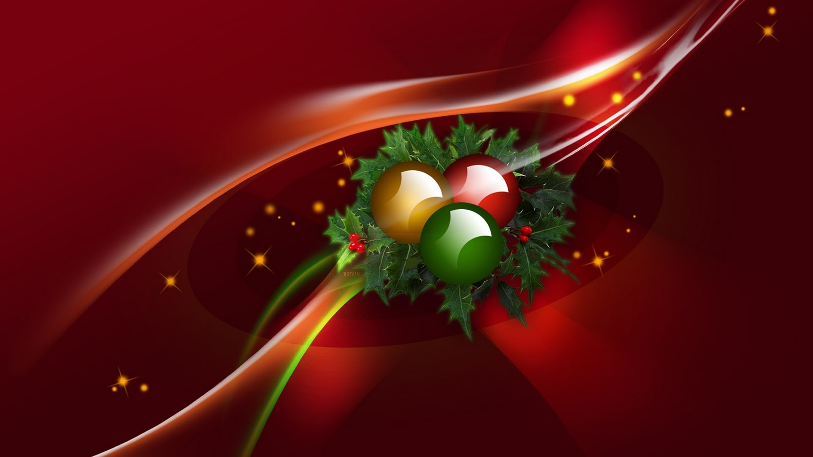 Desktop Christmas Greeting 2014