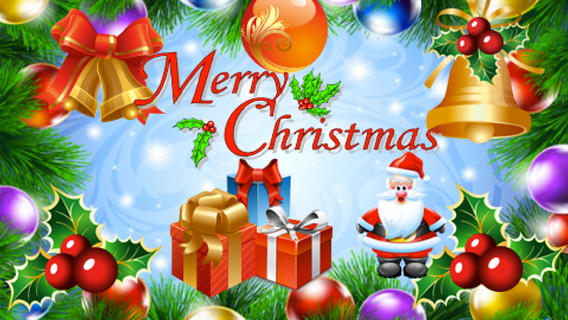 happy christmas greetings wallpapers pc