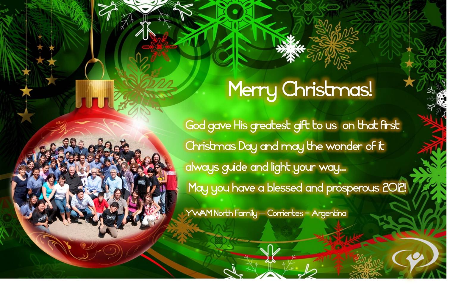 Christmas greeting messages or pictures
