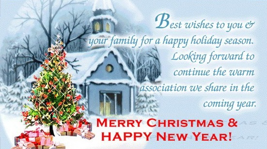 Best Wishes To You. Christmas ...