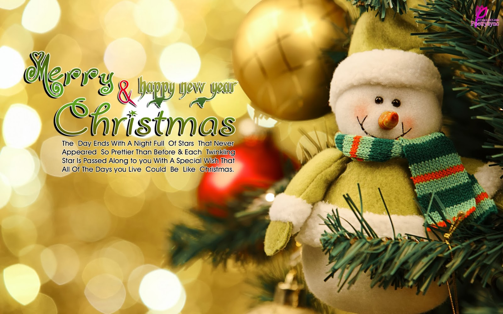 Happy Christmas Wishes Photos