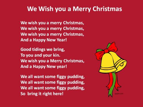 Christmas Greetings Poems For Children's