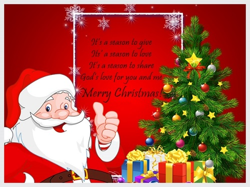 Merry Christmas Wishes And Greetings