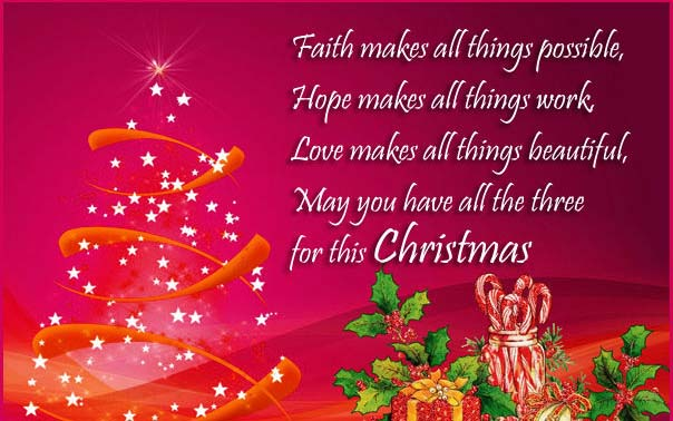 Christmas Greetings Messages 2017