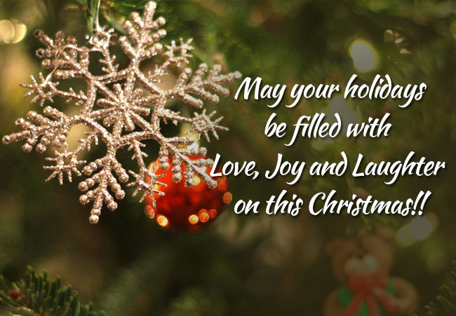 new christmas greeting card messages