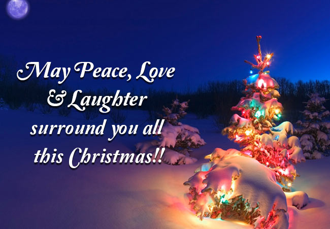 latest christmas greetings to friends