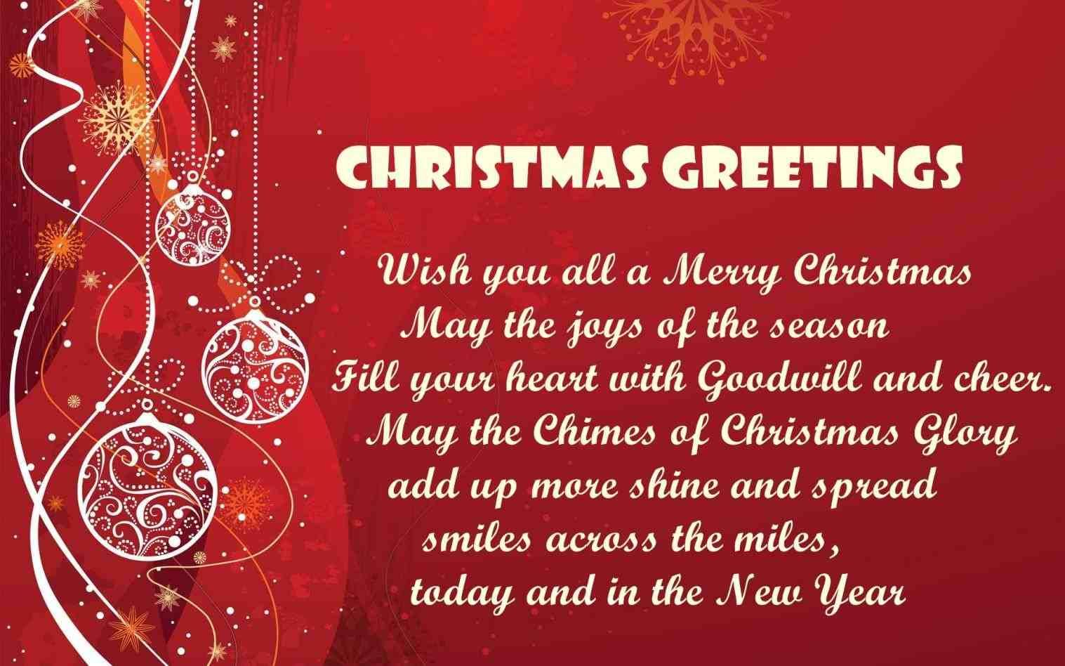 Christmas Day Greetings