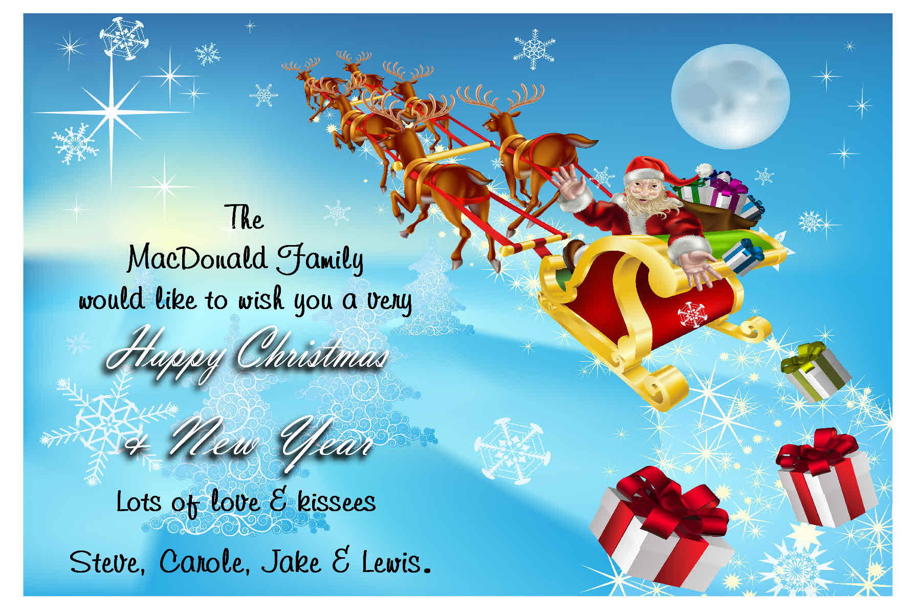 Unique Christmas Greeting Cards for Friends… – Christmas Day Greetings