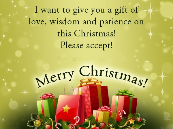 lovely Christmas greetings about family
