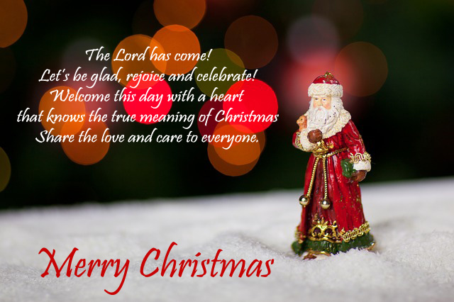 free christmas messages for friends image